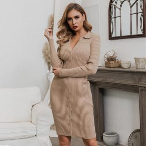 Bohemian Short Winter Dress