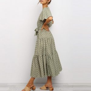 Bohemian Maxi Dress Cheap