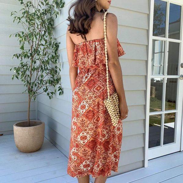 Bohemian Midi Dress