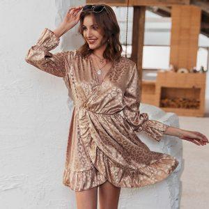 Bohemian Wrap Dress