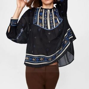 Bohemian blouse