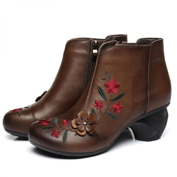 Bohemian Boots Floral Decoration
