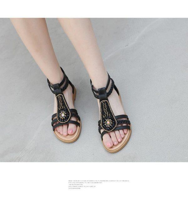 Hippie Bohemian Flat Sandals