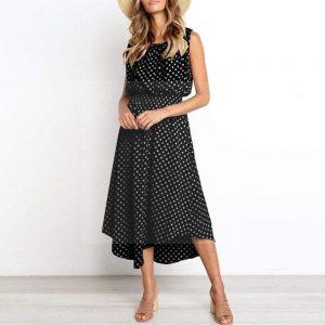 Dress boheme chic woman