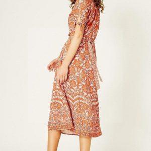 Bohemian summer maxi dress